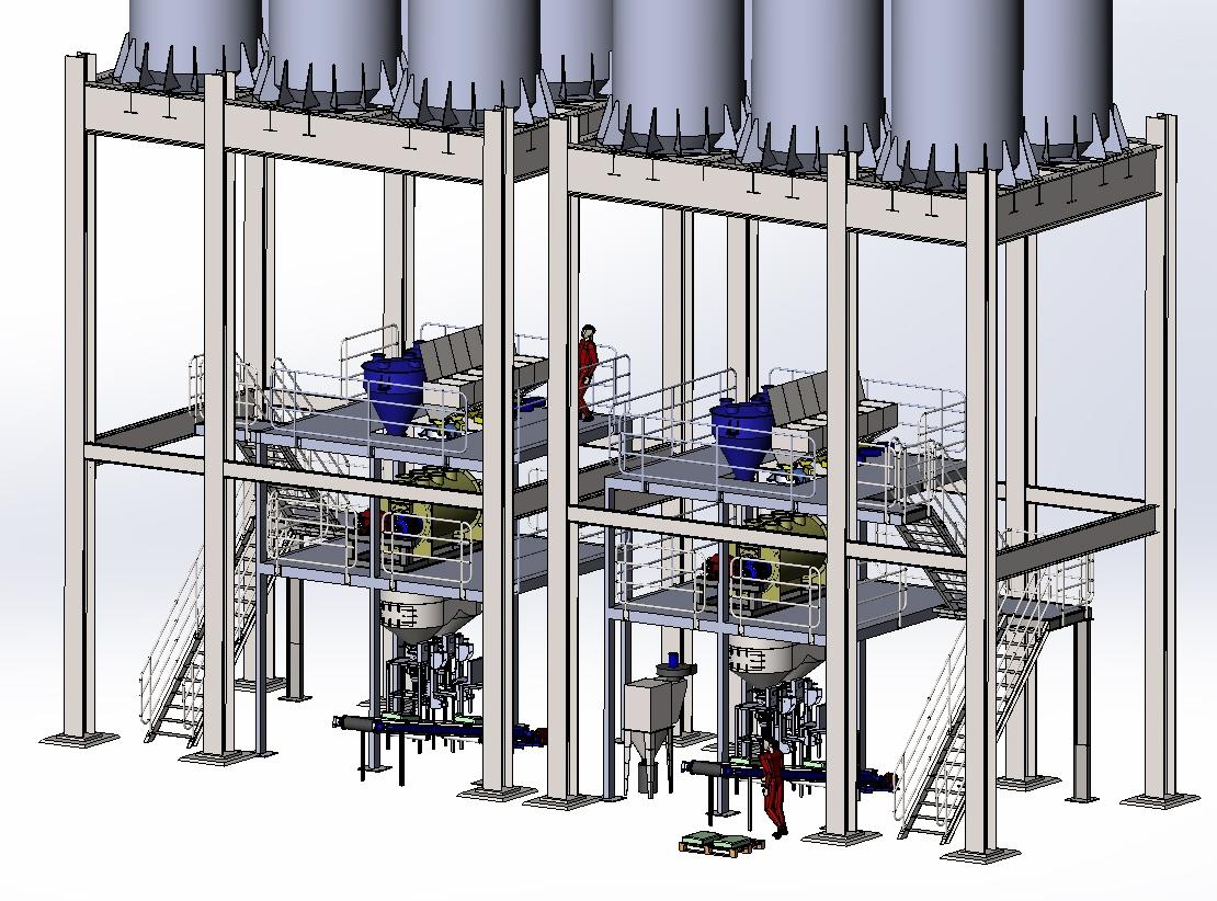 Автоматические заводы линия по производству сухих