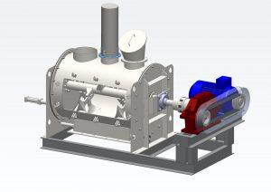 модель смесителя сухих смесей