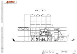 схема завода сухих смесей