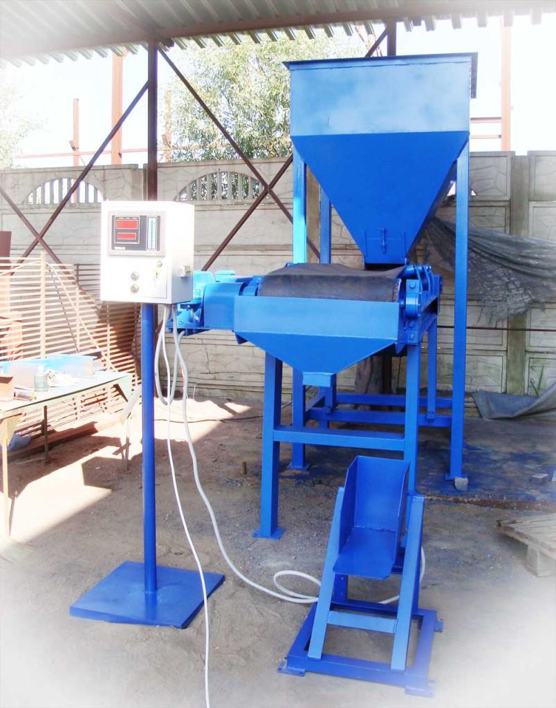 фасовка песка в мешки оборудование