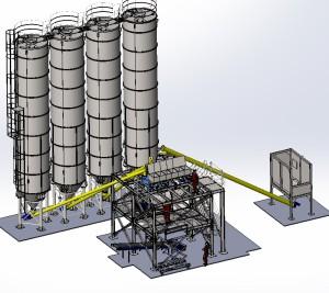 завод сухих смесей Газпром