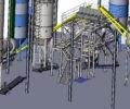 модель завода сухих смесей