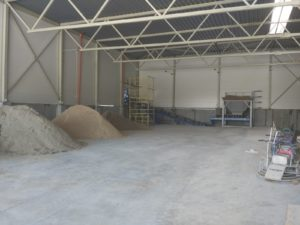 бункер хранения песка