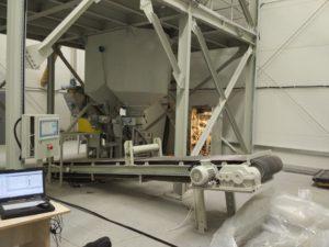 пульт управления заводом сухих смесей