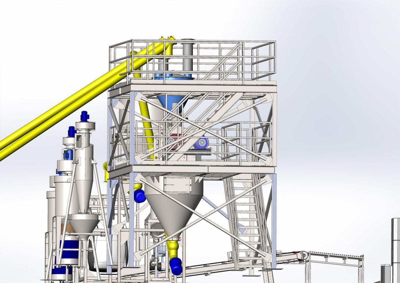 схема завода бентизол